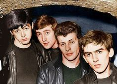 The Beatles w/Pete Best.