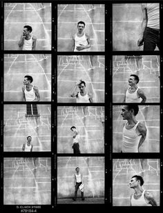 Chris Whitley Contact Sheet - (CW002DCL) | Analogue Gallery