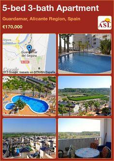 5-bed 3-bath Apartment in Guardamar, Alicante Region, Spain ►€170,000 #PropertyForSaleInSpain