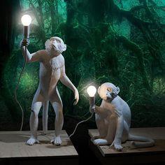 Напольные светильники Seletti Напольный светильник MONKEY LAMP 14882