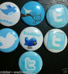 Twitter magnets!