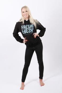 Fresh Thinking, Fresh Life Every day brings a new beginning, you are not your past, each day is a chance to be even happier than yesterday! If you need a roadmap to brighten up your life, then subscribe to our Video Moods series for expert advice at the click of a button. Womens hoodie Womens hoodie, think fresh and change your life. Cosy hoodie for you to feel comfortable and content. Available in black. £21.99