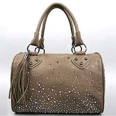 iMoshion Georgina Satchel - Taupe $96 + 20% off with code 2020 free ship over $95 #ombre