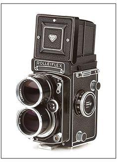 Mint Rollei/Rolleiflex Tele TLR camera w/ Sonnar 135mm f/4 #hk3340 in Cameras & Photo | eBay