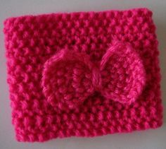 Pink Coffee Cozy Knit Coffee Cozy by Maxiesknitwear on Etsy, $8.50
