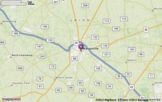 Marysville, OH Map | MapQuest