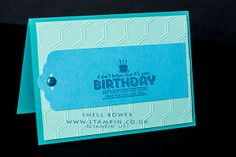 Male birthday card.