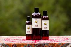 Vata Massage Oil, 100% Organic formula.  Herb-infused Ayurvedic massage oil for treating an overly-sensitive nervous system, anxiety, insomnia, stiff joints/muscles and dry/flaky skin.  Available in 4oz, 8oz and 16oz bottles.