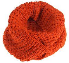 Jemis Women' s Stylish Super Soft Winter Knit Warm Infinity Scarf (Free Size, Orange) Jemis http://www.amazon.com/dp/B00S3I20U4/ref=cm_sw_r_pi_dp_dKMGvb1KQ1JFW