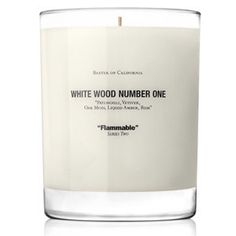 White Wood Number One : patchouli, vetiver, oak moss, liquid amber, rum.  Available at http://www.colette.fr/