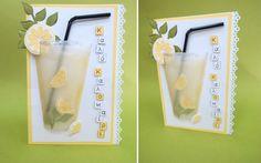 Πρόταση για μια δροσερή καλοκαιρινή κάρτα.  Σαμαρτζή - Βιβλιοπωλείο - Hobby - Καλλιτεχνικά: ΙΔΕΕΣ ΓΙΑ ΧΕΙΡΟΤΕΧΝΙΕΣ - ΧΑΛΚΙΔΑ Summer Activities, Bottle, Frame, Home Decor, Homemade Home Decor, Flask, A Frame, Frames, Hoop