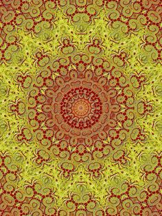 Asia Mandala Buddha Stye Art Print