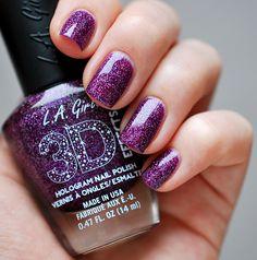 L.A. Girl Purple Effect 03