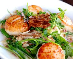 Chef Erin Zircher to cook for James Beard House: Scallops with pancetta and orzo