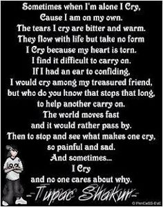I Cry by Tupac