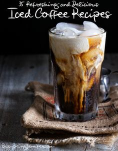 Refreshing and Delicious Iced Coffee Recipes - BusyBeingJennifer.com