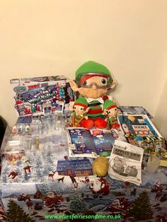 The elves brought a christmas themed science kit. The Elf, Elf On The Shelf, Woodland Elf, Science Kits, Father Christmas, Magical Creatures, Family Traditions, Christmas Themes, Easter Bunny