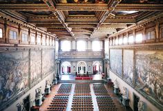 Inside of Palazzo Vecchio, Firenze