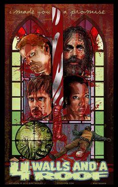 The TV Series Meets the Comic Books In The Walking Dead Fan Art | moviepilot.com