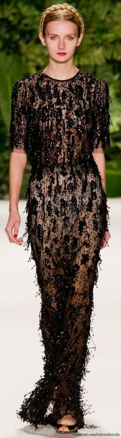 Naeem Khan | S/S 2014 by GodMick