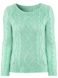Mint Sweater-  cute