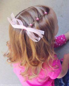 Meisjeskapsel little girl haordo. Today is little sis& last day of school fo., Meisjeskapsel little girl haordo. Today is little sis& last day of school fo. Meisjeskapsel little girl haordo. Today is little sis& last da. Easy Toddler Hairstyles, Baby Girl Hairstyles, Down Hairstyles, Trendy Hairstyles, Kids Hairstyle, Teenage Hairstyles, School Hairstyles, Natural Hairstyles, Hairstyle Ideas