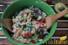 Wildtree's Ranch BLT Pasta Salad Recipe - Use Wildtree organic seasonings in your favorite recipes!  Check out recipes on my site:  http://www.mywildtree.com/NASHVILLEFOODIE/