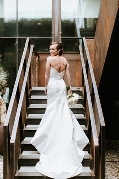 A bride before her ceremony and reception at South Congress Hotel in Austin, Texas. Photo by Hayley Ringo. Austin Hotels, Wedding Shoot, Wedding Dresses, Wedding Lingerie, Hotel Wedding, Rehearsal Dinners, One Shoulder Wedding Dress, Bride, Austin Texas