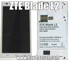 http://www.hard-reset.com/zte-blade-l2-hard-reset.html How to remove password on your ZTE Blade L2 phone. #Reset your phone using reset code via emergency dial screen