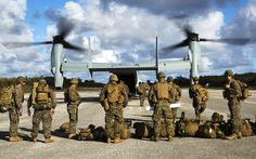 Taking a Load Off | An MV-22B Osprey disembarks Marines Dec.… | Flickr