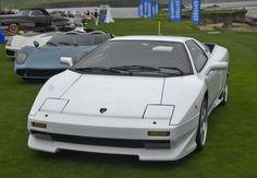 Silver Lamborghini P140