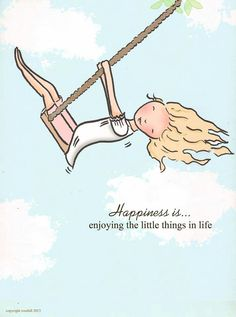 Happiness Is °°° Enjoying The Little Things In Life ° Rose Hill Designs by Heather Stillufsen