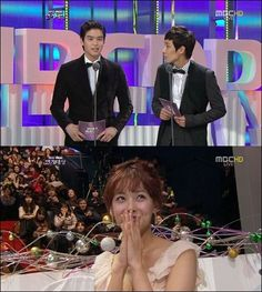 Oh Yeon Seo and Lee Joon continue to show their affections for each other at the '2012 MBC Drama Awards'