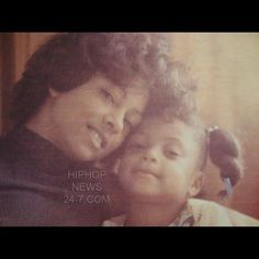 Young Taraji P. Henson and her lovely mom