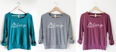 Always Pullover by So Effing Cute - Inspired by the Deathly Hallows, Harry Potter - Made in USA