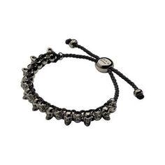 FRIENDSHIP BLK SKULL BLK #Jewellery #Christmas #ForHim