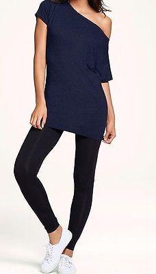 Ladies Black Leggings/Spandex (Size L)