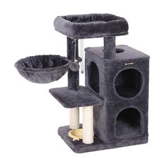 EXCLUSIVE LUXURY FOR CATS: Your feline friends need a cozy home of their own to play, take a nap or jump around; this cat house is sure to be their Cat Activity, Activity Centers, Furniture Scratches, Cat Furniture, Cool Cat Toys, Cool Cats, Pet Shop, Cat Tree Condo, Cat Perch