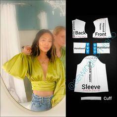 Diy Clothing, Sewing Clothes, Dress Sewing Patterns, Clothing Patterns, Fashion Sewing, Diy Fashion, Diy Clothes Design, How To Make Clothes, Diy Dress