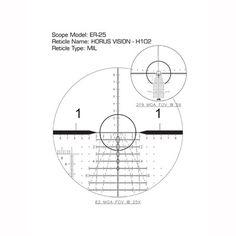 US OPTICS, INC B-25 5-25X52MM FFP H102 RETICLE SCOPE | Brownells