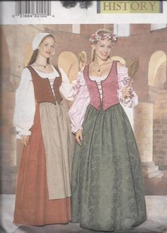 Camelot Maiden and Chamber Maid Renaissance by DawnsDesignBoutique, $6.00