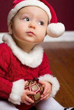 Kids faces Christmas