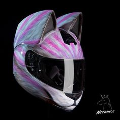 Badass cat lovers, these helmets were created just for you. Coming in 12 different designs, Neko Helmets all feature cat ears.