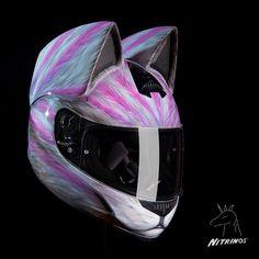 #capacete #gato #orelha