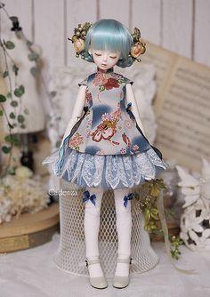 青空の花 | Flickr - Photo Sharing! Anime Dolls, Blythe Dolls, Big Eyes Artist, Victorian Dolls, Doll Painting, Doll Repaint, Custom Dolls, Ball Jointed Dolls, Doll Face