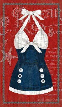 The Sailor Blue Swimsuit (Suzanne Nicoll)