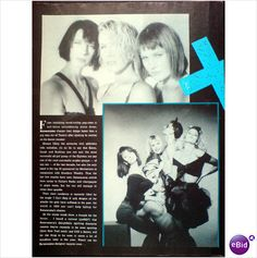 Bananarama. From Tantalising Poppettes. 1 page feature. Record Mirror magazine