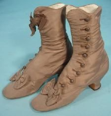 1870 Button Boots