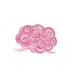 Lampion nuage S rose - Petit Pan