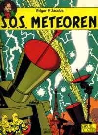 KLASSIEKER: De titel is trouwens een verkeerde vertaling van het franse 'Meteoriques' (weerbericht). Door te klikken op de cover wordt het CBook Deel 08 Blake en Mortimer - SOS Meteoren.cbr gestart